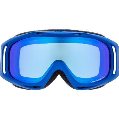 Uvex Slider FM Gogle narciarskie junior dziecięce blue mirror blue