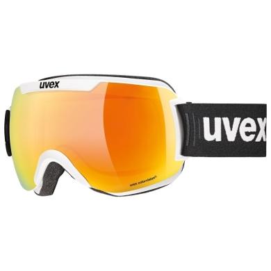 Uvex Downhill 2000 CV Gogle narciarskie colorvision white mat mirror orange