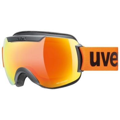 Uvex Downhill 2000 CV Gogle narciarskie colorvision black mat mirror orange