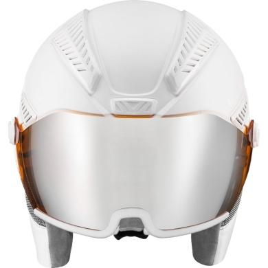 Kask narciarski snowboardowy Uvex Hlmt 600 Visor biały
