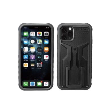 Topeak RideCase Pokrowiec na iPhone 11 Pro czarno szary