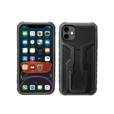 Topeak RideCase Pokrowiec na iPhone 11 czarno szary