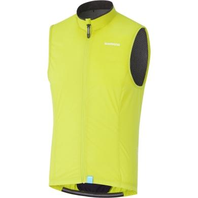 Shimano Compact Wind Vest Kamizelka wiatrowa neon yellow