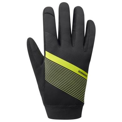 Shimano Wind Control Rękawiczkiżółty