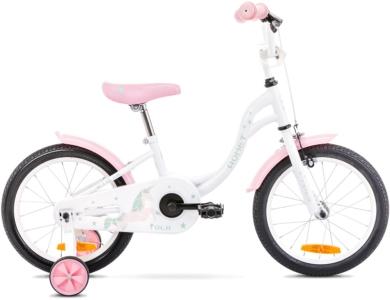 Rower Romet Tola 16 Biało Różowy
