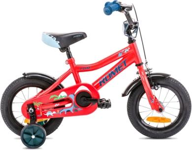 Rower Romet Tom 12 Czerwono Niebieski
