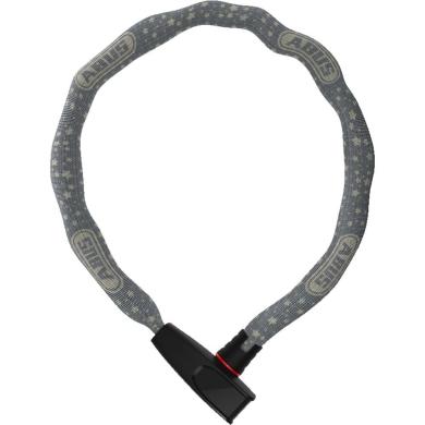 Abus Catena 6806 75cm Zapięcie rowerowe łańcuch z zamkiem szare