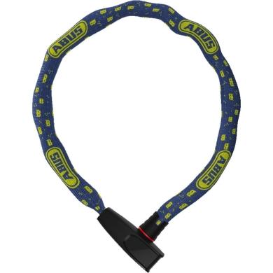 Abus Catena 6806 75cm Zapięcie rowerowe łańcuch z zamkiem niebieskie