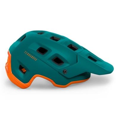 MET Terranova Kask zielono pomarańczowe