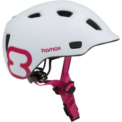 Kask Hamax Thundercap biało-różowy