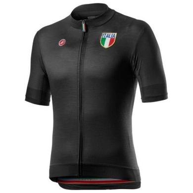 Koszulka Castelli Italia 20 Czarna