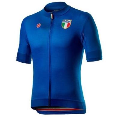 Koszulka Castelli Italia 20 Niebieska