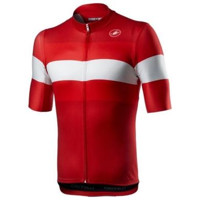 Koszulka Castelli LaMitica Czerwona