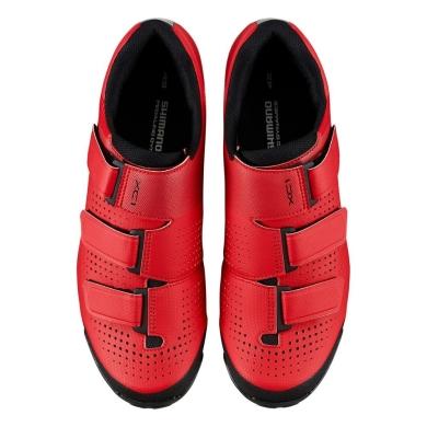 Buty Shimano SH XC100M Czerwone