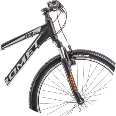 Rower Romet Rambler R6.0JR Czarno Pomarańczowy