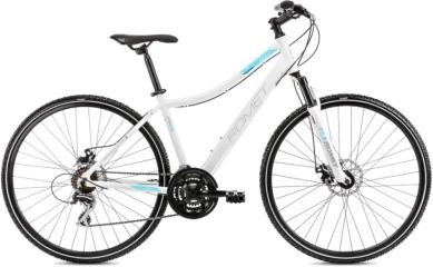 Rower Romet Orkan 1 Biało Niebieski