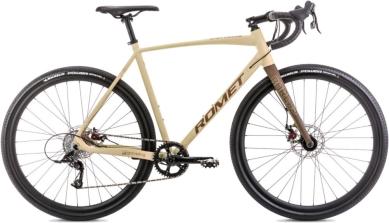 Rower Romet Boreas 1 Beżowo Brązowy