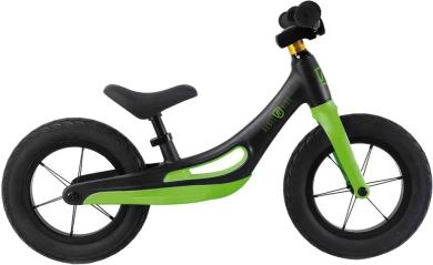 Rowerek Biegowy Rebel Kidz Czarno Zielony
