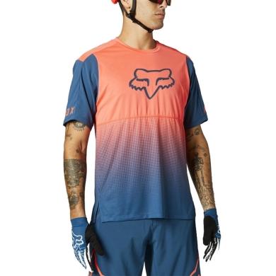 Koszulka Fox Flexair Pomarańczowa