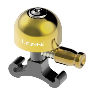 Dzwonek Lezyne Classic Brass Small Bell Mosiądz Czarny