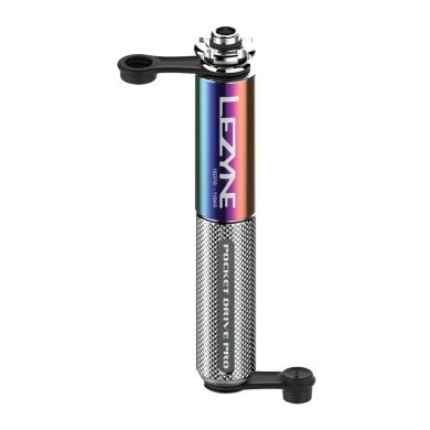 Pompka Lezyne Pocket Drive Pro Abs Flex 160psi Srebrna