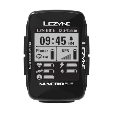 Licznik Rowerowy Lezyne Macro Plus GPS HRSC Loaded