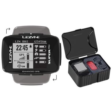 Licznik Rowerowy Lezyne Super Pro GPS HRSC Loaded