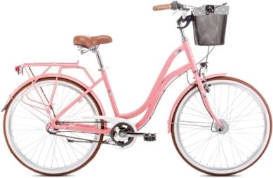 Rower Romet POP ART 26 Różowy