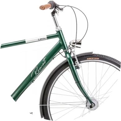 Rower Romet Grom 3S 28 Zielony