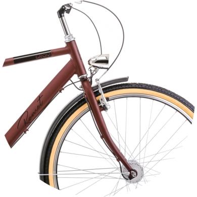 Rower Romet Grom 7S 28 Brązowy