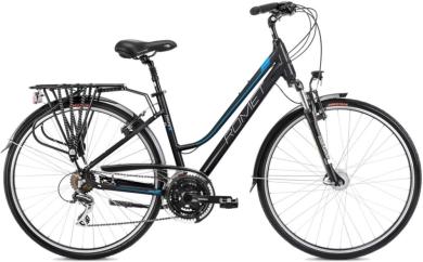 Rower Romet Gazela 3 Czarno Niebieski