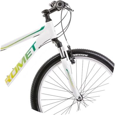 Rower Romet Jolene 6.0 Biało Zielony
