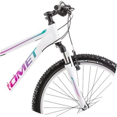 Rower Romet Jolene 6.1 Biało Zielony