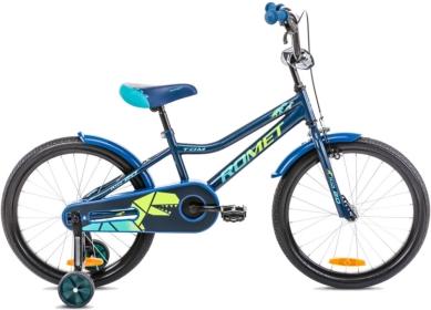 Rower Romet Tom 20 Niebiesko Zielony