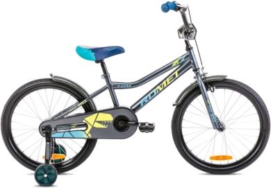 Rower Romet Tom 20 Antracytowo Żółty