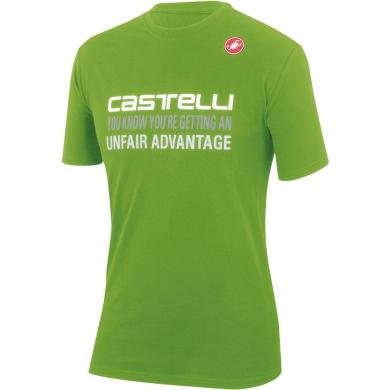 Koszulka Castelli Advantage Zielona
