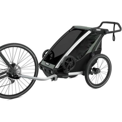 Przyczepka Thule Chariot Lite 1 Czarno zielona