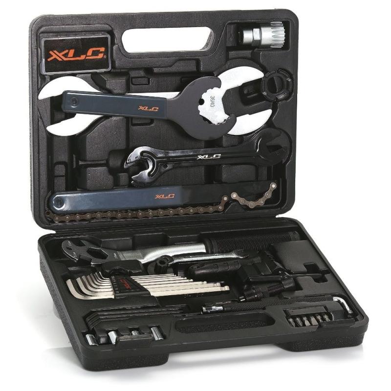 XLC TO-S61 Walizka zestaw narzędziowy 32 częściowy