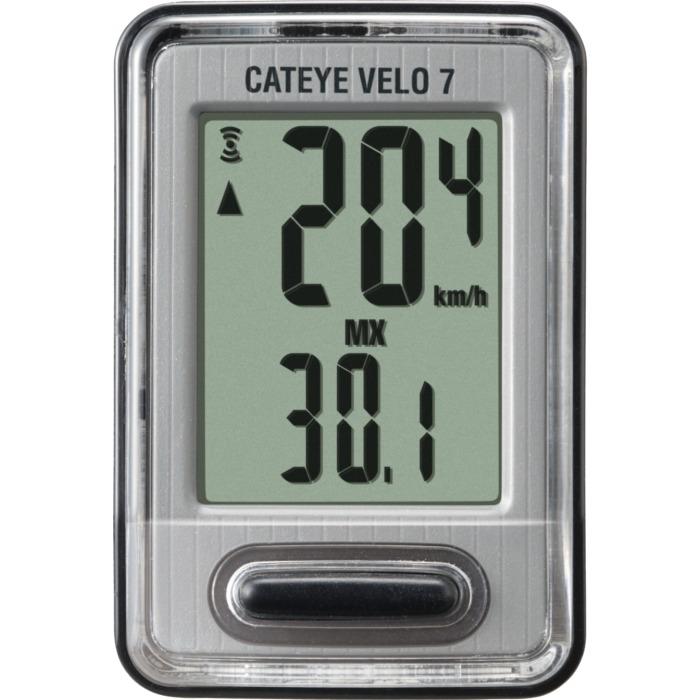 Cateye Velo 7 CC VL520 Licznik rowerowy 7 funkcyjny