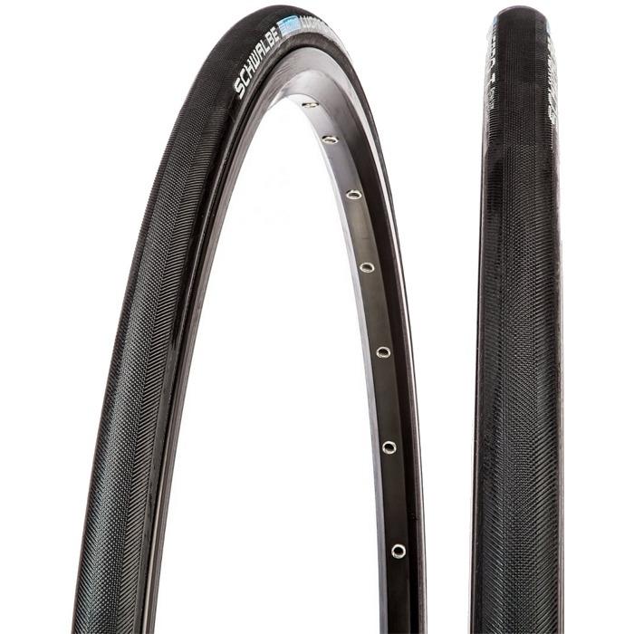 Schwalbe Lugano T 700 x 22C KG Szytka szosowa czarna