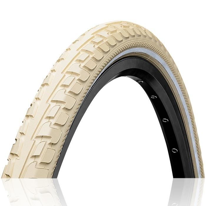 Continental Ride Tour??????? 28 ExtraPuncture Belt Opona rowerowa drutowa kremowa Reflex