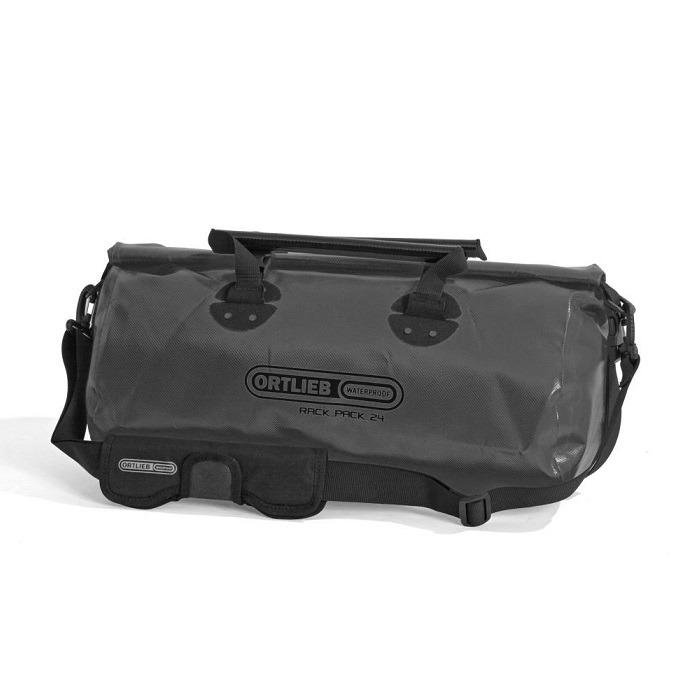 Ortlieb Rack Pack Torba podróżna asfaltowo-czarna