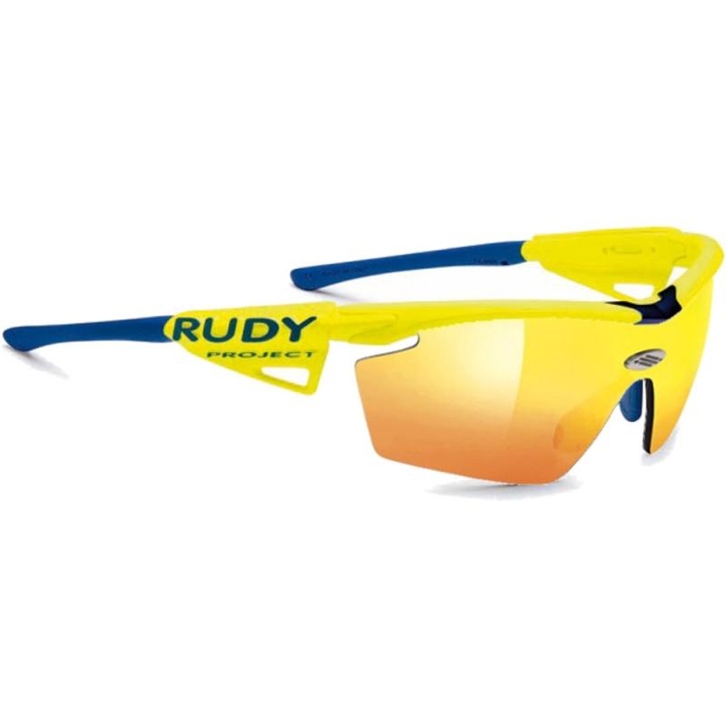 Rudy Project Genetyk Okulary Racing Pro Yellow Fluo Multilaser Orange