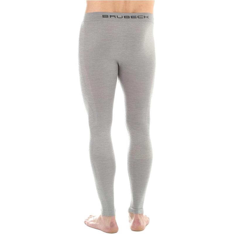 Brubeck Comfort Wool Legginsy męskie jasnoszare