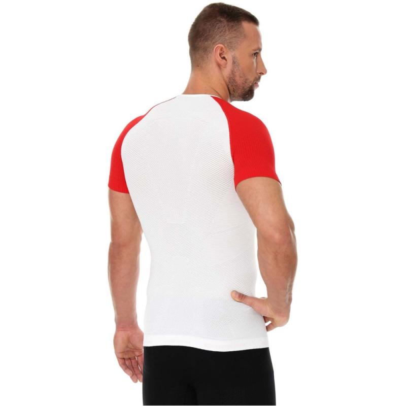 Brubeck 3D Husar PRO Koszulka męska z krótkim rękawem