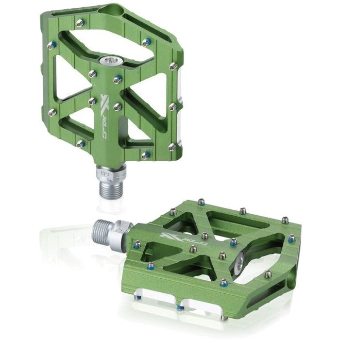 XLC PD M12 Pedały platformowe BMX / freeride zielone