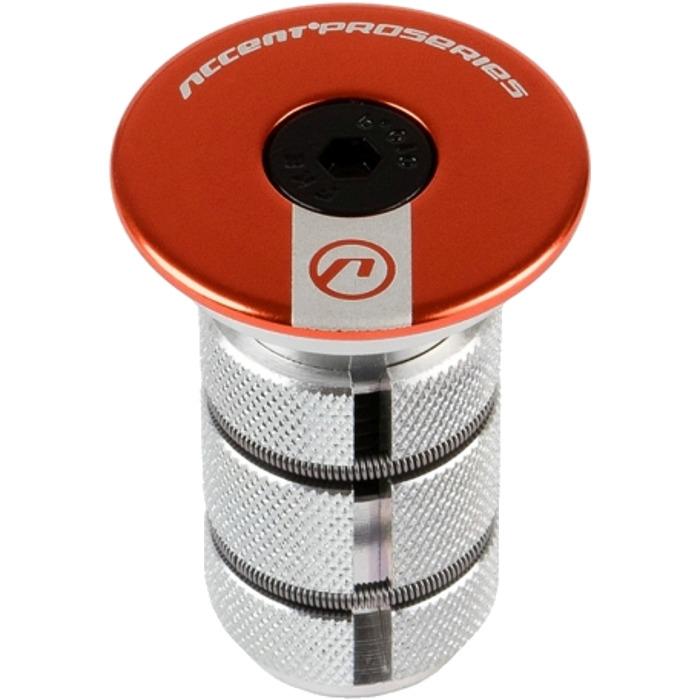 Accent AC 900 Carbon Gwiazdka steru z kapslem pomarańczowa