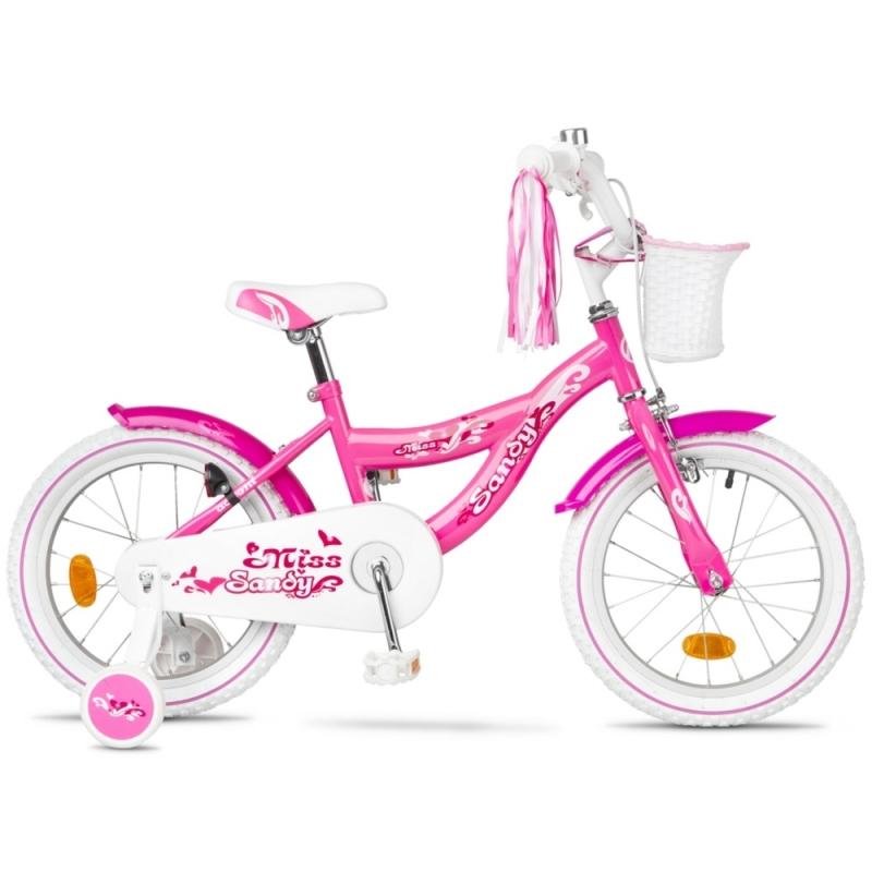 Accent Sandy Rower dziecięcy 16 cali różowy