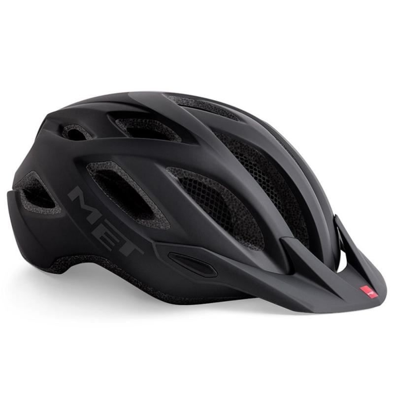 MET Crossover Kask rowerowy czarny mat