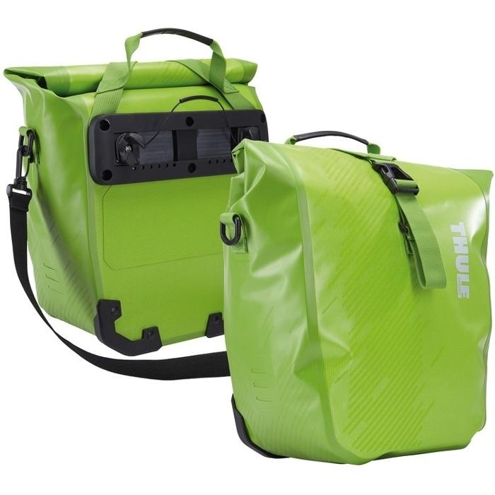 Thule Shield Pannier Small Sakwy rowerowe zielone 14L